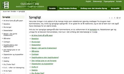 ordnet.dk