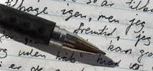 Kuglepen og papir