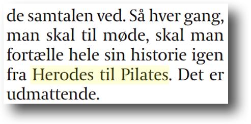 herodes til pilates
