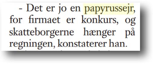 papyrussejr