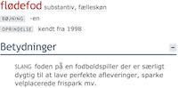 Den Danske Ordbog udvides med 1.685 ord