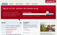 Ansigtsløft til Danmarks vigtigste sprogsite, sproget.dk