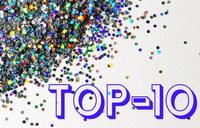 De 10 mest besøgte sider på sproget.dk i 2017
