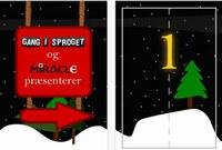 Julekalenderapp fra Dansk Sprognævn