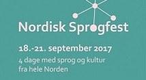 Nordisk Sprogfest 2017
