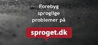 Nyt på sproget.dk — sproglige skrivebordsbaggrunde
