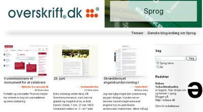overskrift.dk