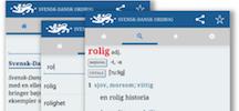 Svensk-Dansk Ordbog findes nu som app
