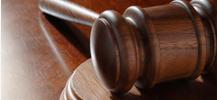 Hammer fra retssal